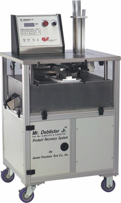 Deblister Machine - Product Recovery form Blister Cards